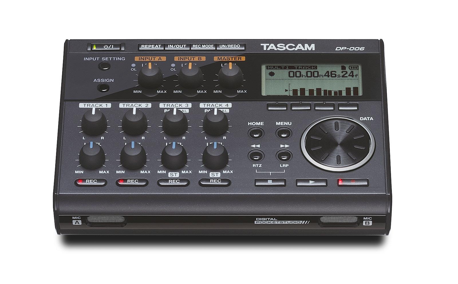 Billede af Tascam DP-006 digital 6-track recorder