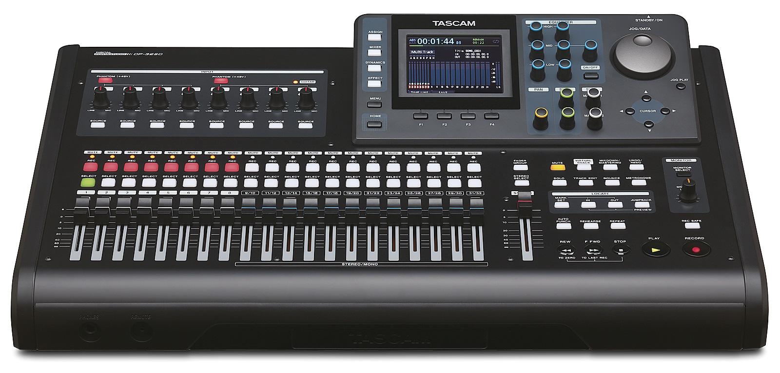 Billede af Tascam DP-32SD digital 32 track recorder