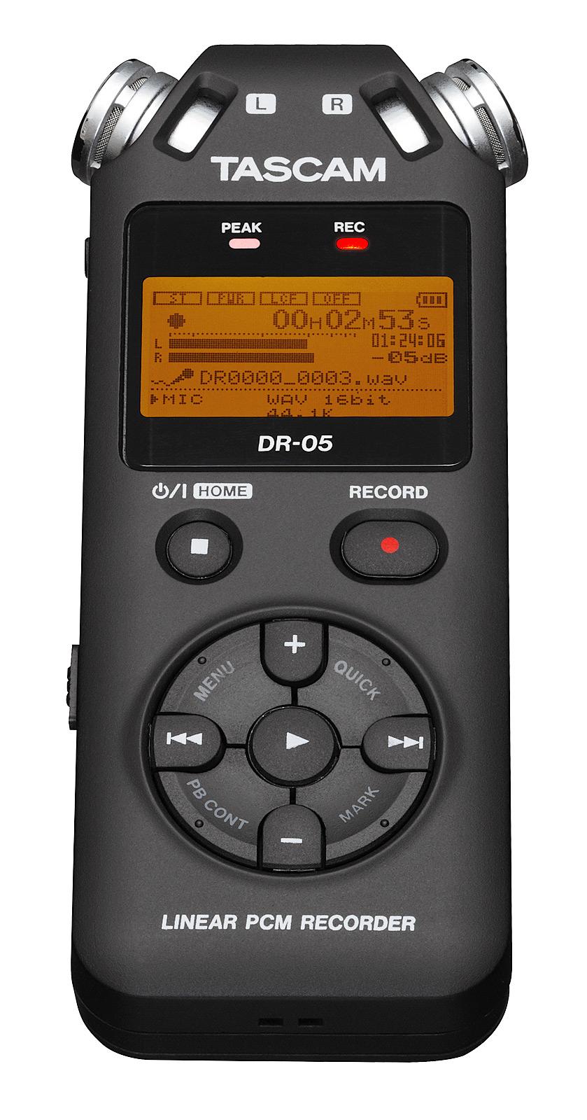 Billede af Tascam DR-05 V2 håndholdt stereo optager