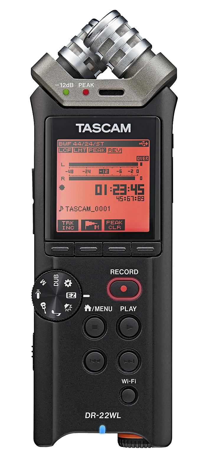 Billede af Tascam DR-22WL håndholdt stereo optager
