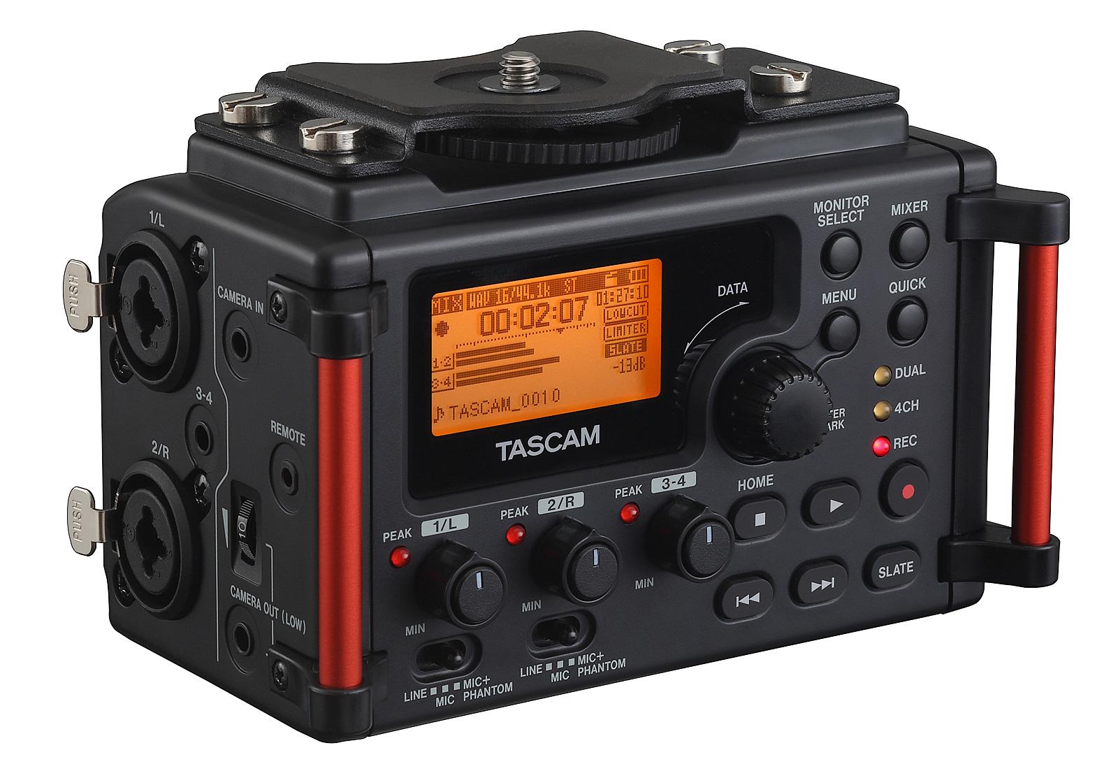 Billede af Tascam DR-60DMK2 audio recorder til DSLR