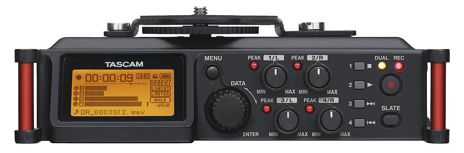 Billede af Tascam DR-70D audio recorder til DSLR