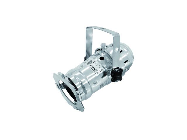 Billede af EUROLITE LED PAR-16 3200K 1x3W Spot sølv Sølv