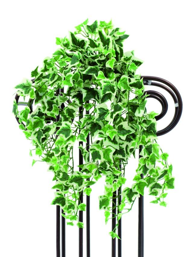 Billede af Kunstig Ivy tendril, green-white, 50cm