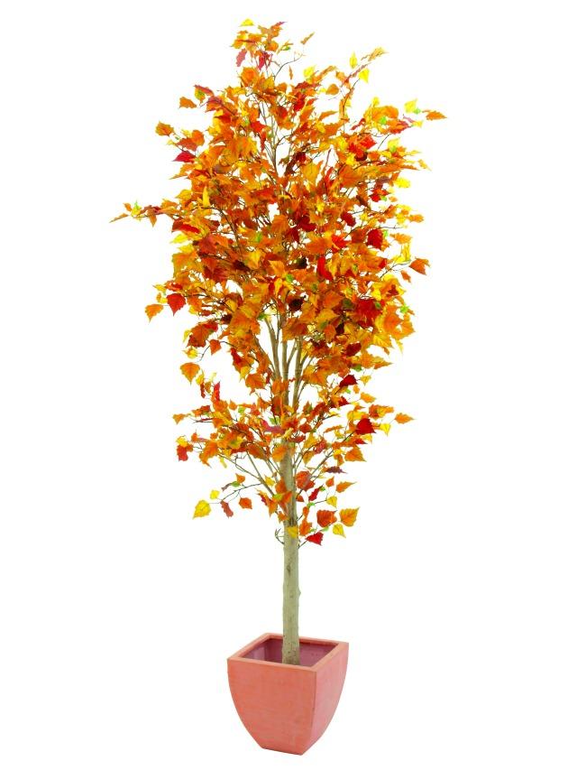 Billede af Kunstig Efterårstræ, 210 cm