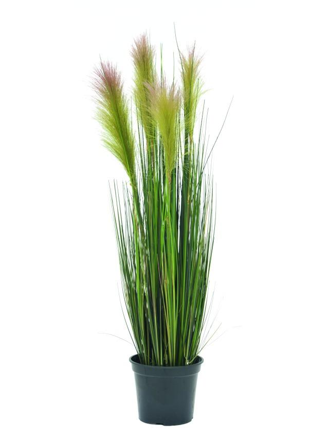 Billede af Kunstig Feather grass, rosé, 90cm