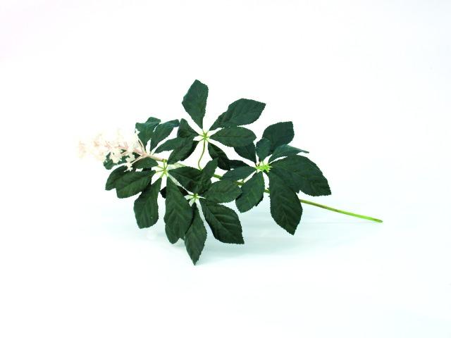 Billede af Kunstig Chestnut branch with blossoms, 60cm