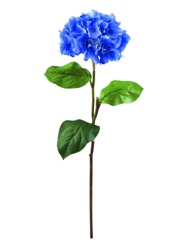 Billede af Kunstig Hydragenaspray, blue, 76cm