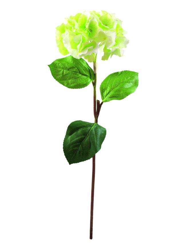 Billede af Kunstig Hydragenaspray, green, 76cm