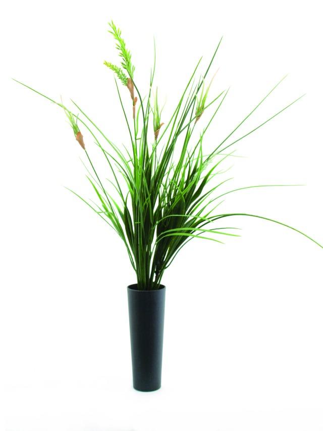Billede af Kunstig Onion grass bush, 66cm