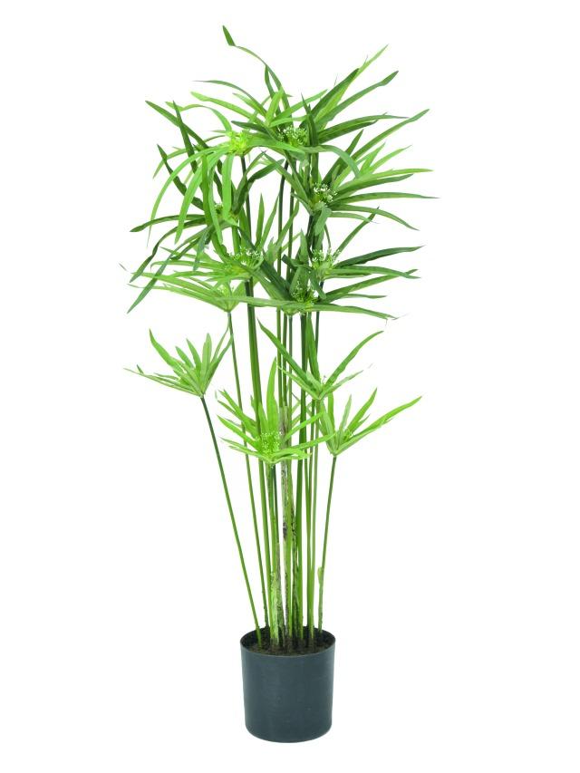 Billede af Kunstig Cyperusgrass, 76cm