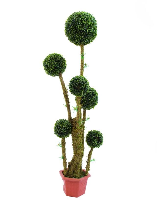 Billede af Kunstig Boxball tree, 163cm