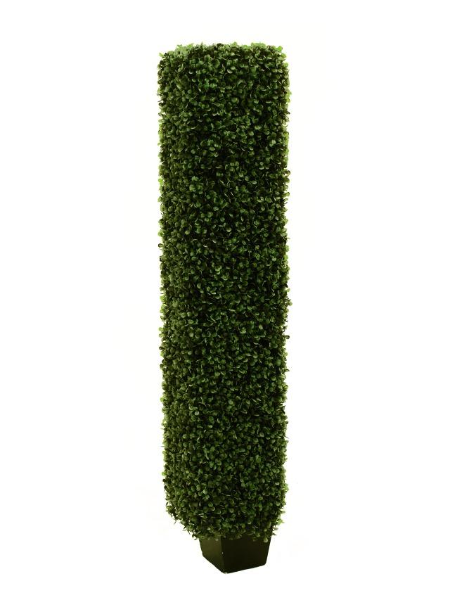 Billede af Kunstig Boxwood column, 118cm