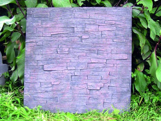 Billede af Kunstig Wallpanel, slate, 100x100cm