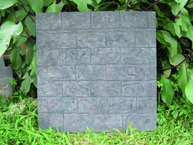 Billede af Kunstig Wallpanel, cobblestone, 100x100cm