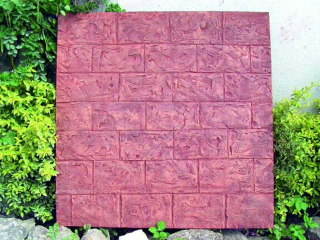 Billede af Kunstig Wallpanel, sandstone, 100x100cm