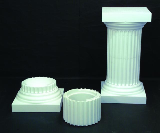 Billede af Kunstig Column Athens, polystyrene, 30cm