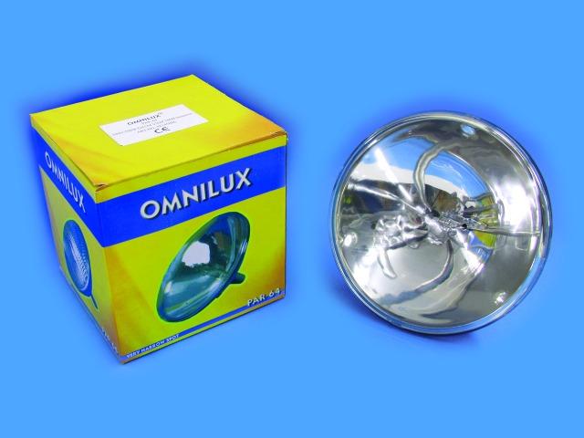 Billede af Omnilux PAR pære PAR-64 230V/500W MFL