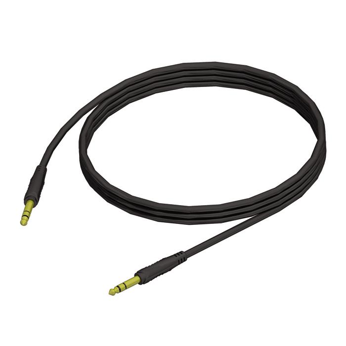Billede af Instrument kabel 6.3 mm Jack stereo til 6.3 mm Jack stereo 10 m