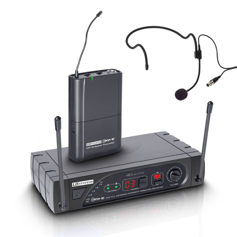 Billede af LD Systems ECO 16 BPH Trådløs mikrofon headset