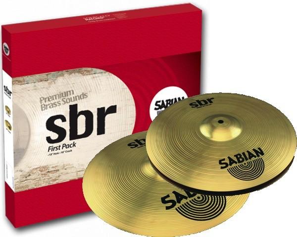 Billede af Sabian SBr First Pack Bækkenpakke