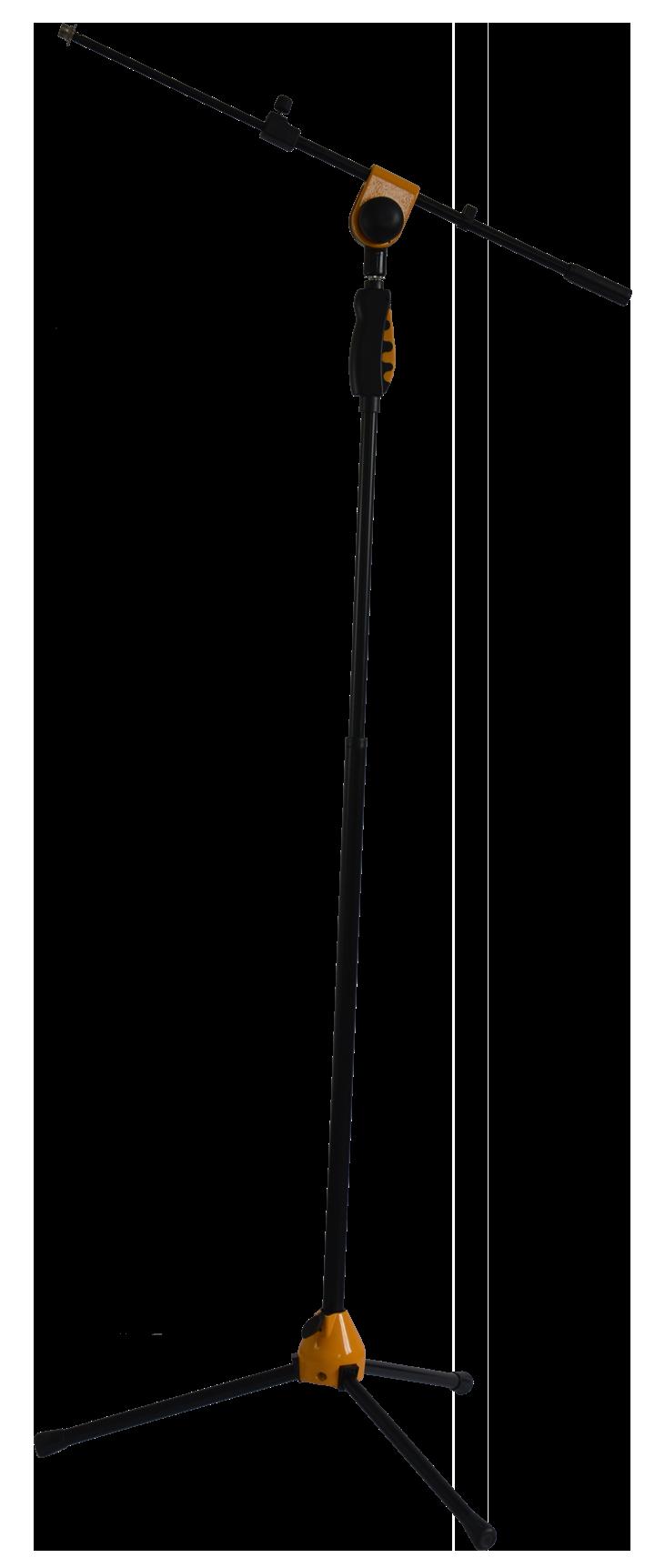 Billede af Ibiza Mikrofon Stativ, Teleskop, 115-170 cm Gul