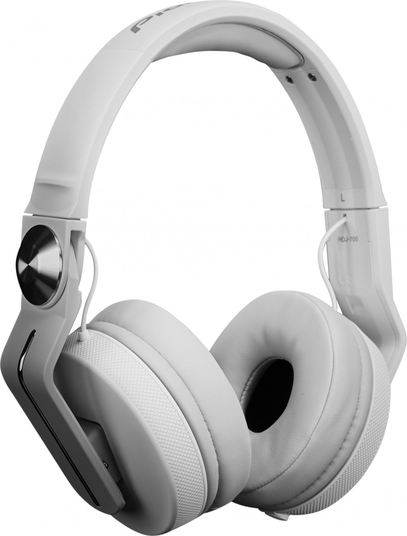 Billede af Pioneer HDJ-700 DJ hovedtelefon Hvid