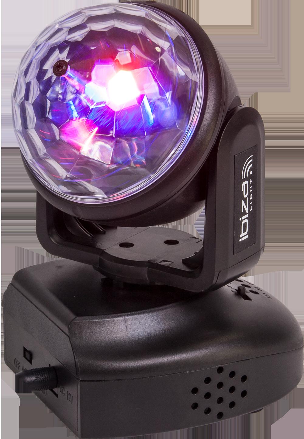 Billede af Ibiza Astro Moving Head 6 x 3 Watt
