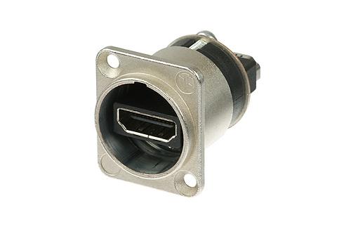 Billede af Neutrik Chassis Stik HDMI Sølv