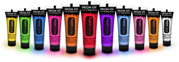 Billede af UV Ansigtsmaling 10 ml. Karamel