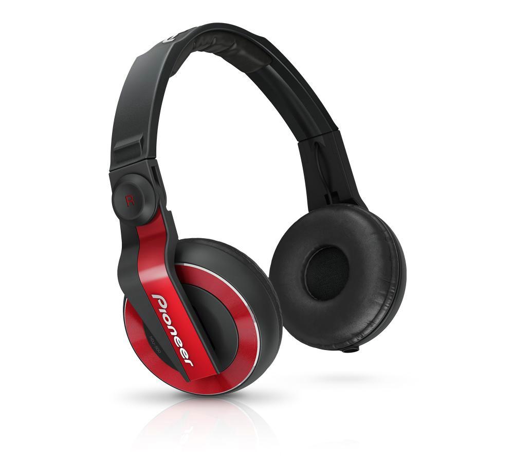 Billede af Pioneer HDJ-500 DJ hovedtelefoner Rød