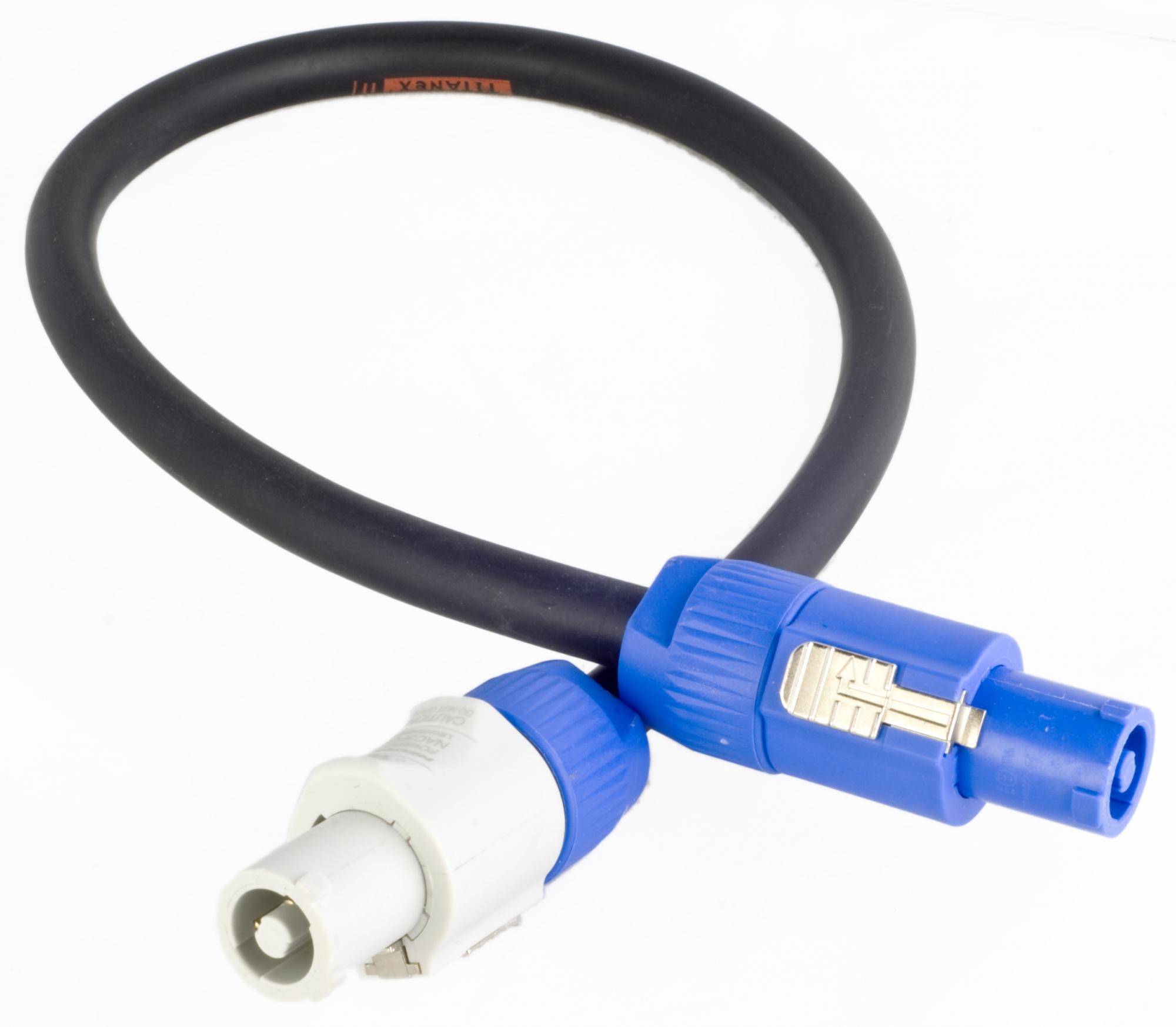 Billede af Powercon forlængerkabel 10 meter