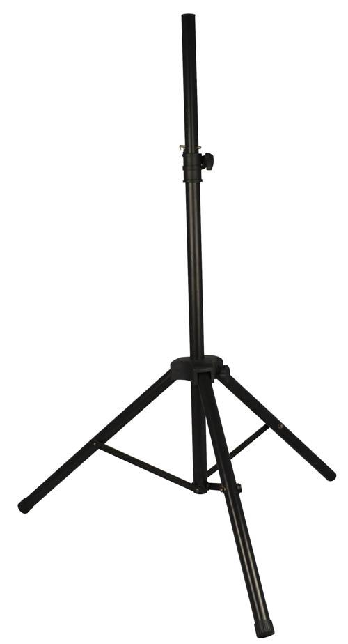 Billede af Aluminium Højttaler Stativ sort (25kg/1,90m)