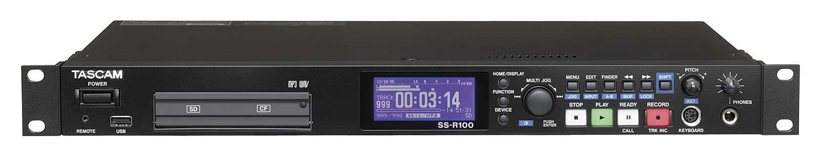 Billede af Tascam SS-R100 harddisk audio recorder WAW/MP3