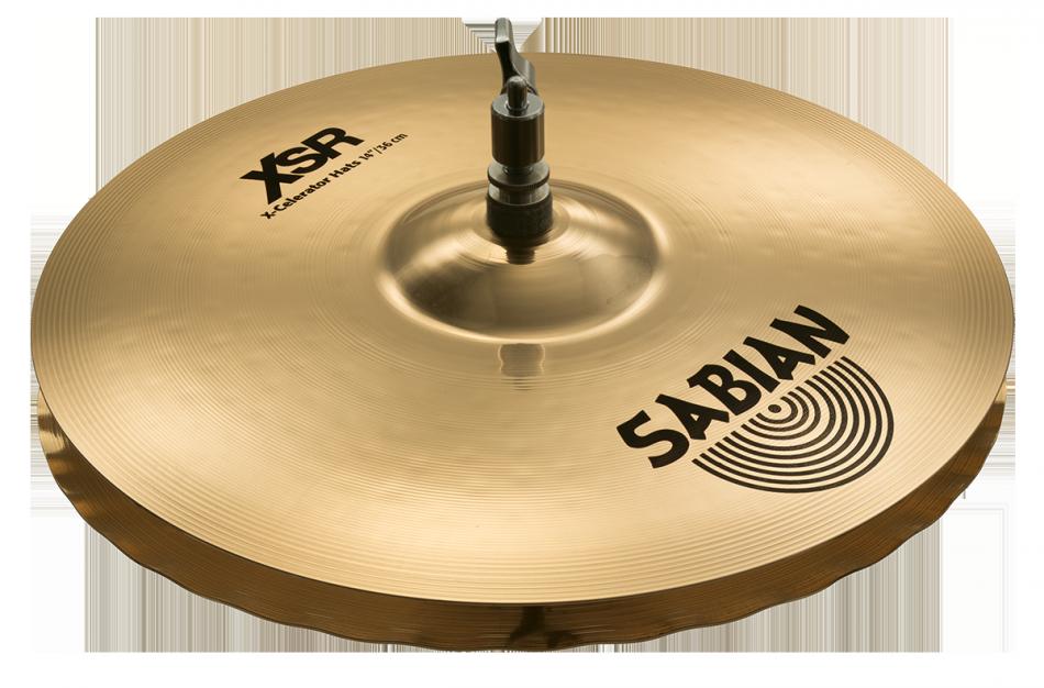 """Billede af Sabian 14"""" XSR X-Celerator Hi-hat"""